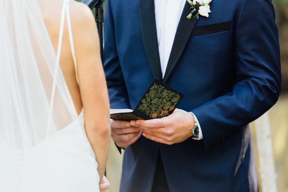 www.santabarbarawedding.com   Jihan Cerda   Villa Verano   Wedding Vows