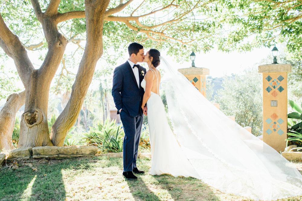 www.santabarbarawedding.com   Jihan Cerda   Villa Verano   Bride and Groom