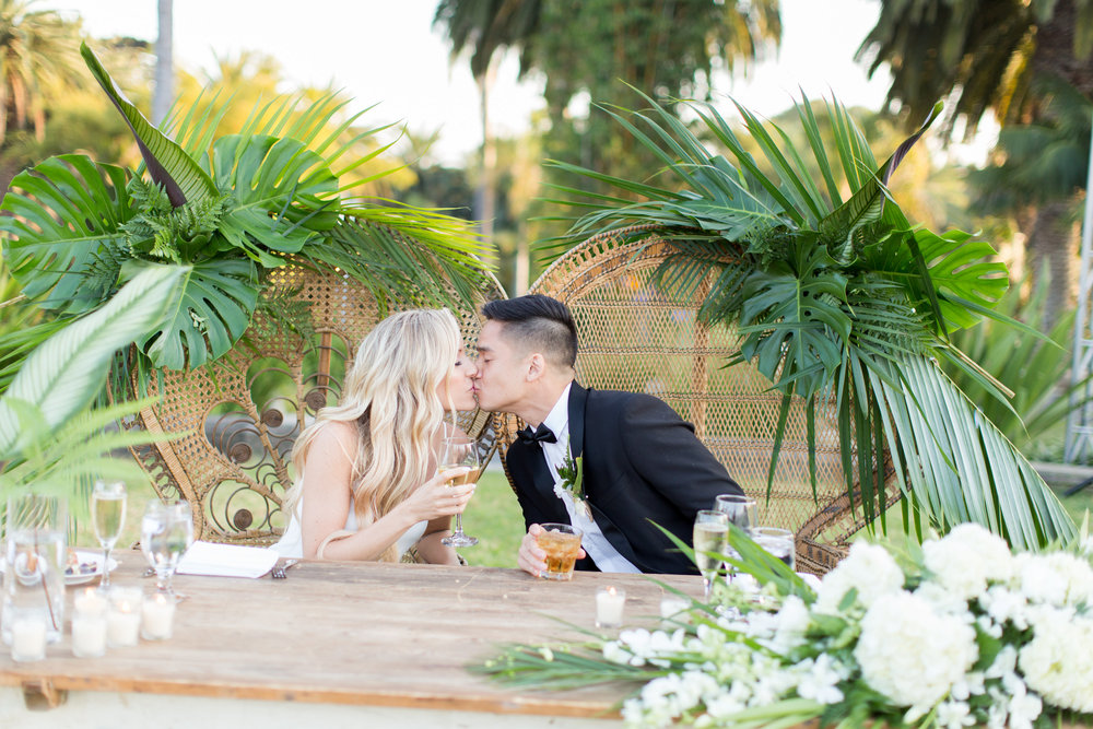 www.santabarbarawedding.com | Santa Barbara Zoo | Wonder Tribe | Events by Rincon | Bride and Groom