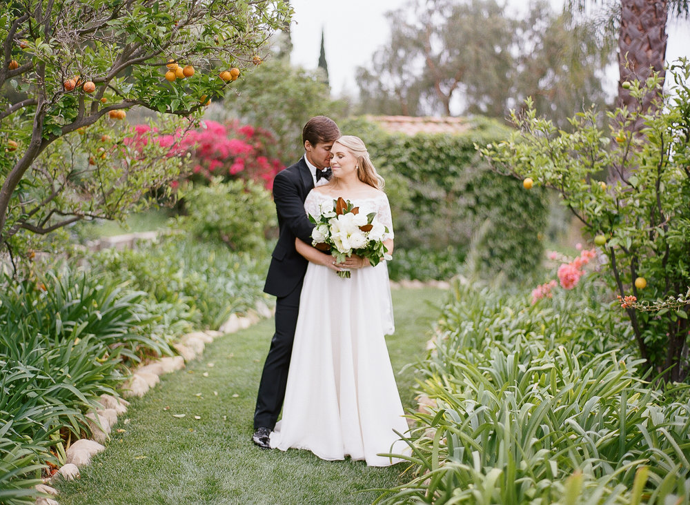 www.santabarbarawedding.com | Villa Verano | Clarissa Koenig | Felici Events | Bride and Groom