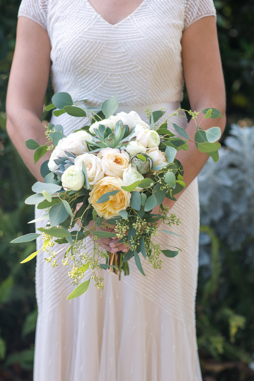 www.santabarbarawedding.com | Cameron Jordan Artistry | Gerry Ranch | Bridal Bouquet