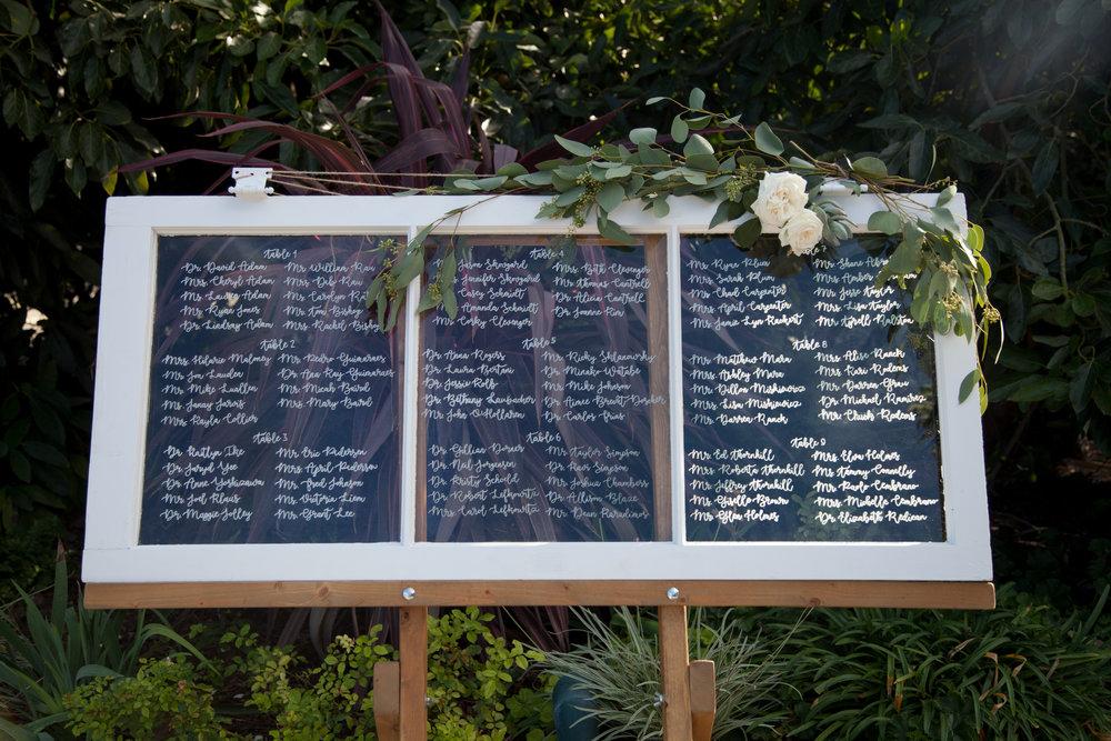 www.santabarbarawedding.com | Cameron Jordan Artistry | Gerry Ranch | Reception Table Seating