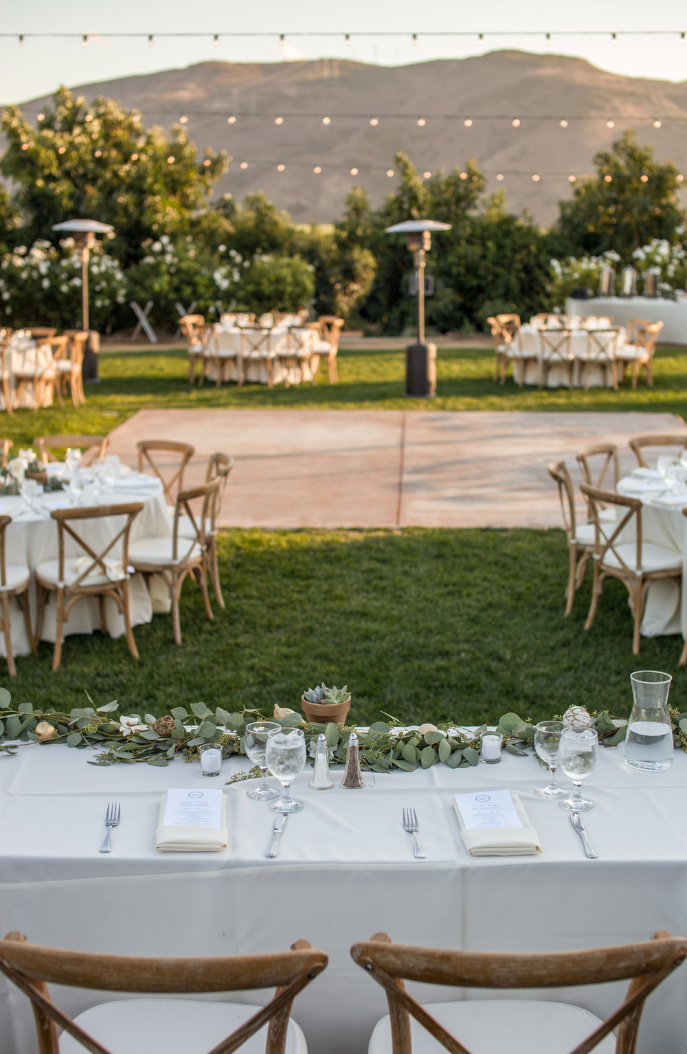 www.santabarbarawedding.com | Cameron Jordan Artistry | Gerry Ranch | Reception