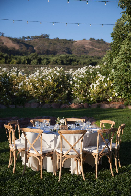 www.santabarbarawedding.com | Cameron Jordan Artistry | Gerry Ranch | Reception Table