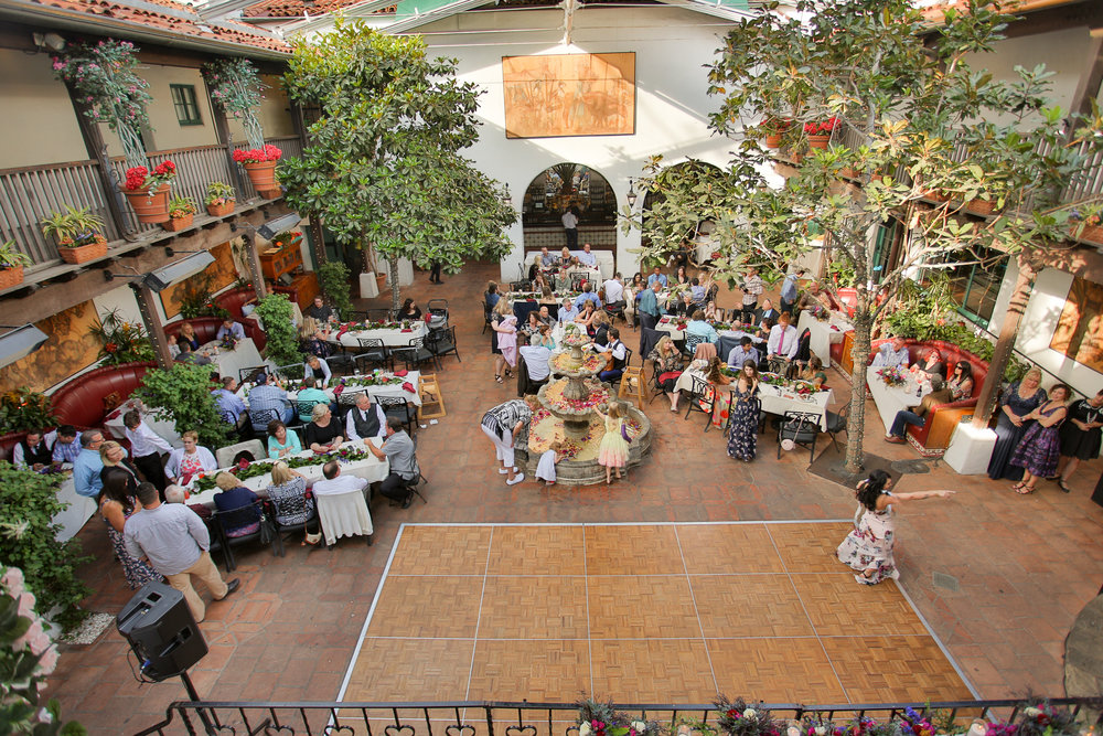 www.santabarbarawedding.com | Boone & Stacie Weddings | Santa Barbara Courthouse | El Paseo | Reception