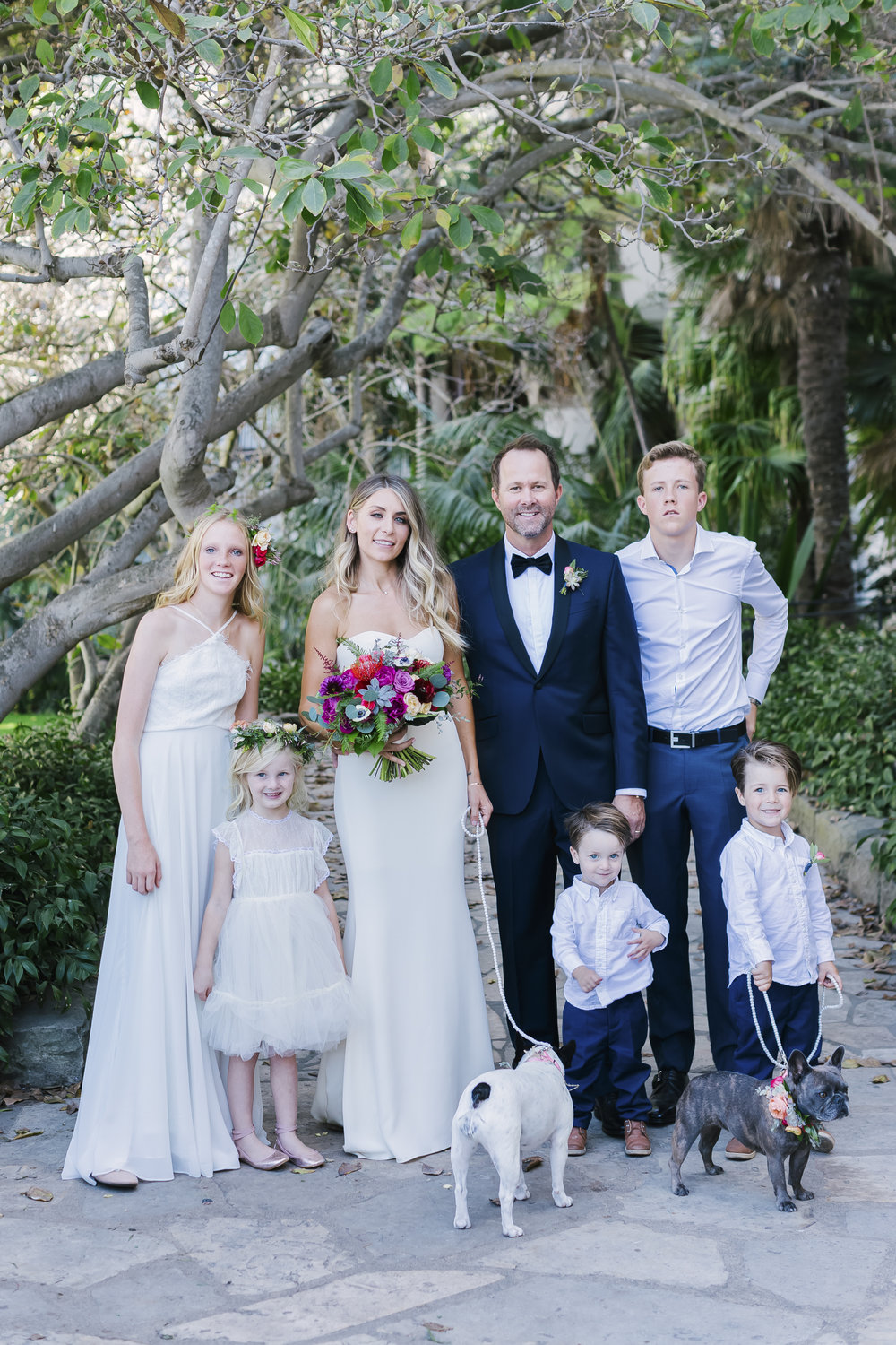 www.santabarbarawedding.com | Santa Barbara Courthouse | Canary Hotel | Aurelia D'Amore Photography | Family Portrait