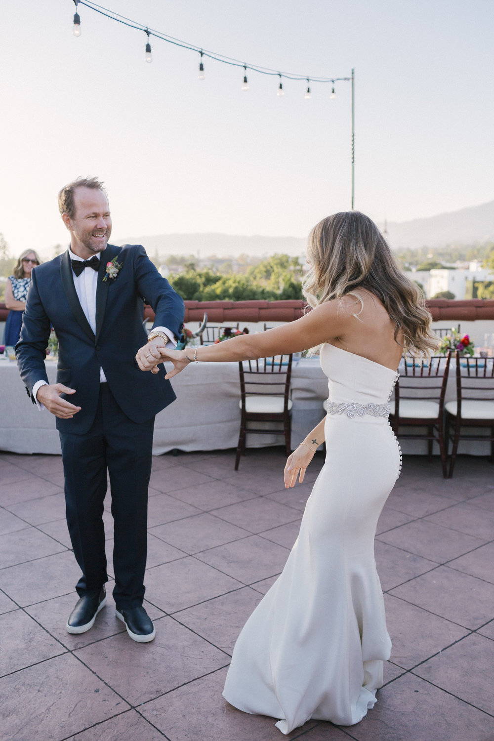 www.santabarbarawedding.com | Santa Barbara Courthouse | Canary Hotel | Aurelia D'Amore Photography | First Dance