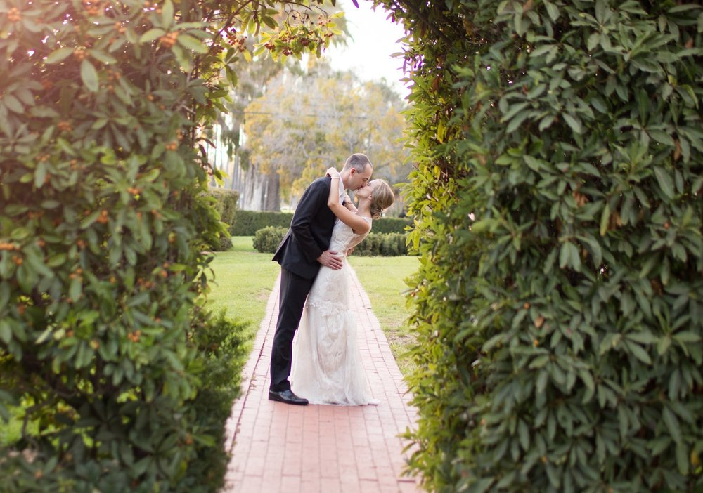 www.santabarbarawedding.com | Riviera Mansion | Anna J Photography | Bride and Groom