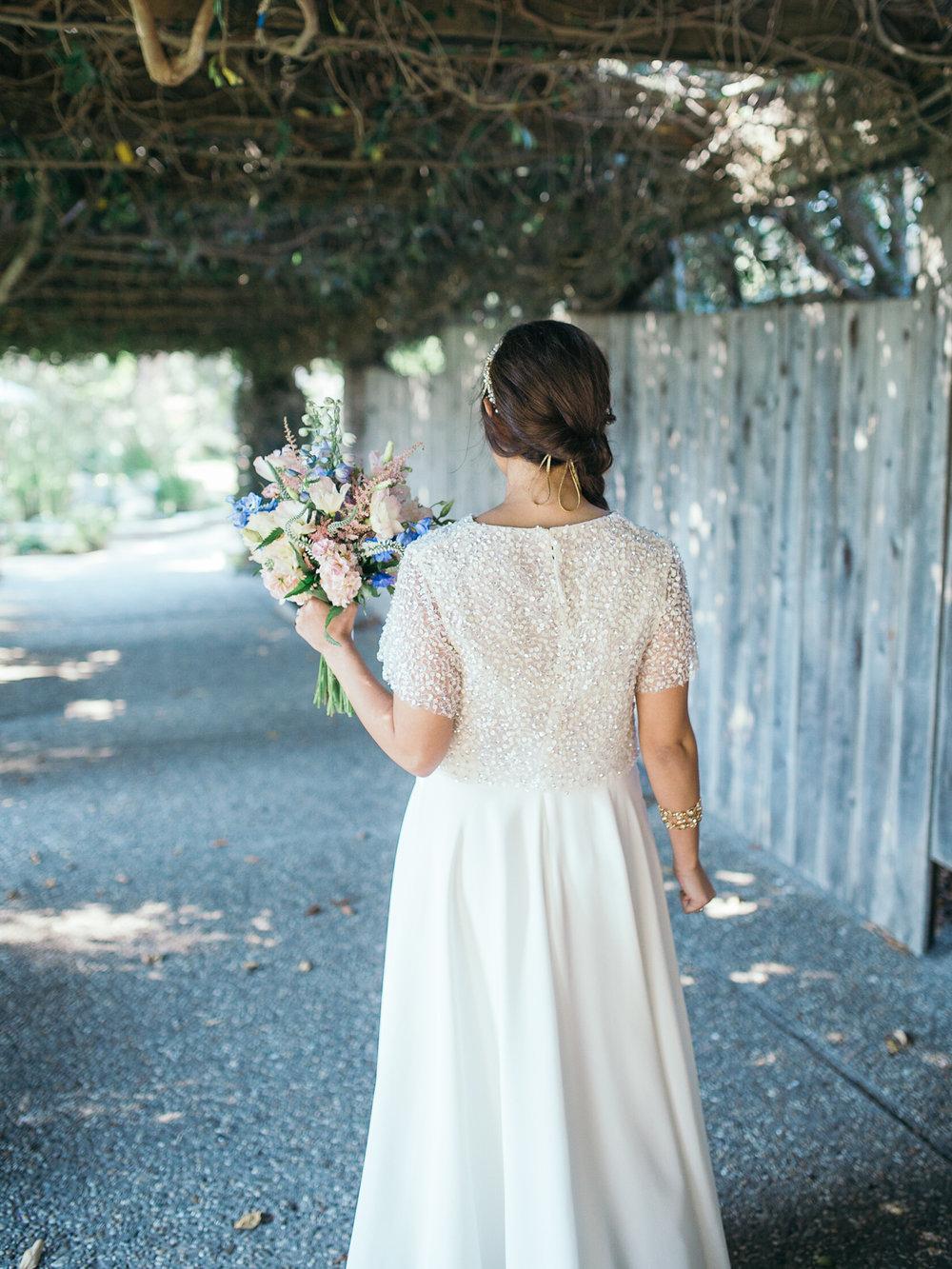 www.santabarbarawedding.com | Santa Barbara Zoo | Kiel Rucker | Rincon Catering | Bride