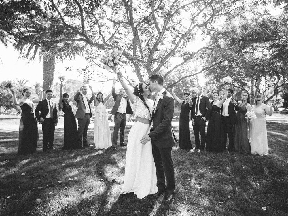www.santabarbarawedding.com | Santa Barbara Zoo | Kiel Rucker | Rincon Catering | Bridal Party