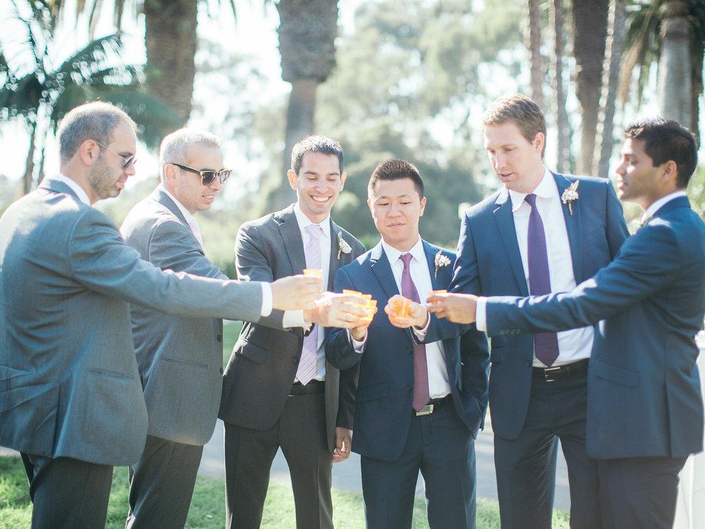 www.santabarbarawedding.com | Santa Barbara Zoo | Kiel Rucker | Rincon Catering | Groomsmen