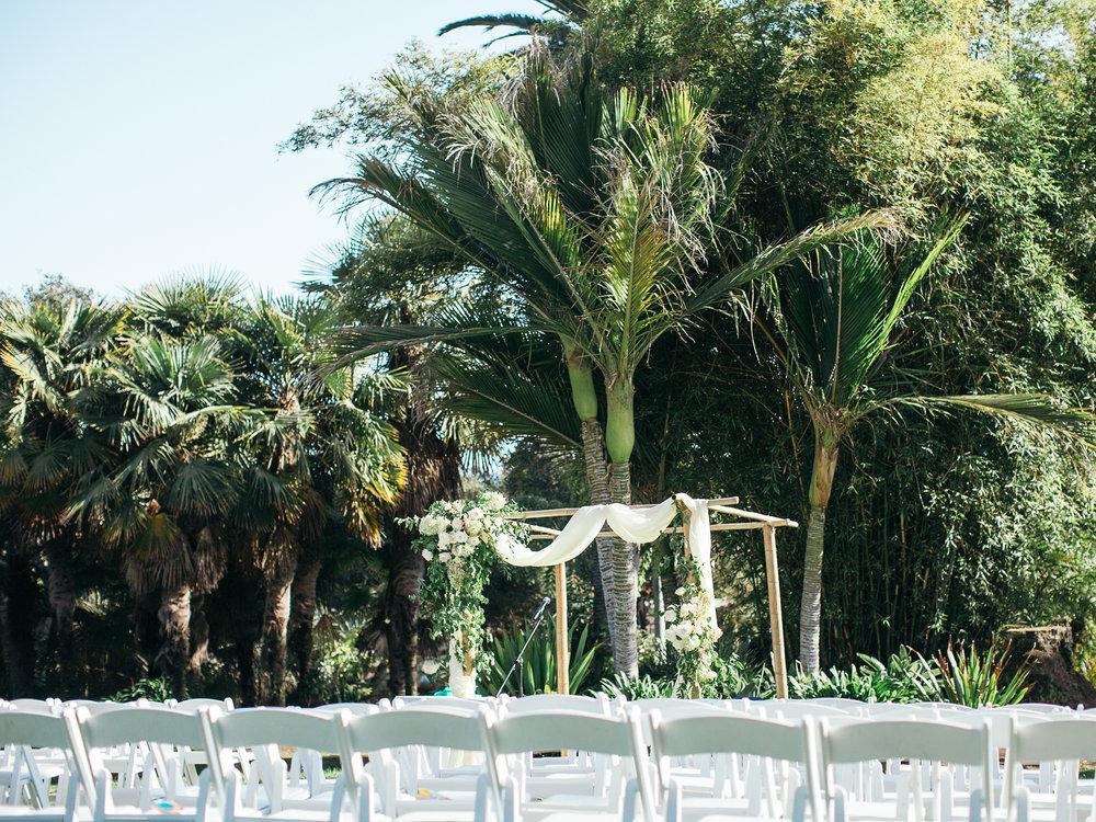 www.santabarbarawedding.com | Santa Barbara Zoo | Kiel Rucker | Rincon Catering | Ceremony Seating