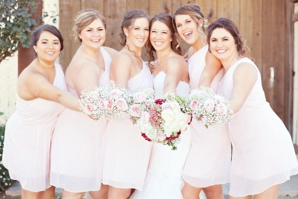 www.santabarbarawedding.com | Kay Mitchell Photography | Madonna Ranch | Bridesmaids