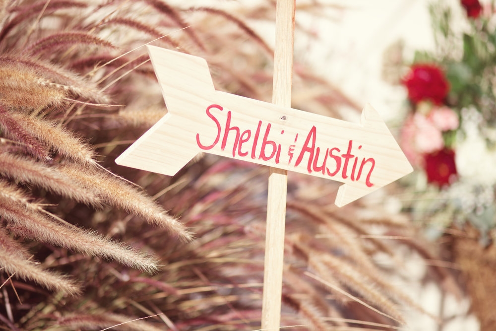 www.santabarbarawedding.com | Kay Mitchell Photography | Madonna Ranch | Wedding Sign