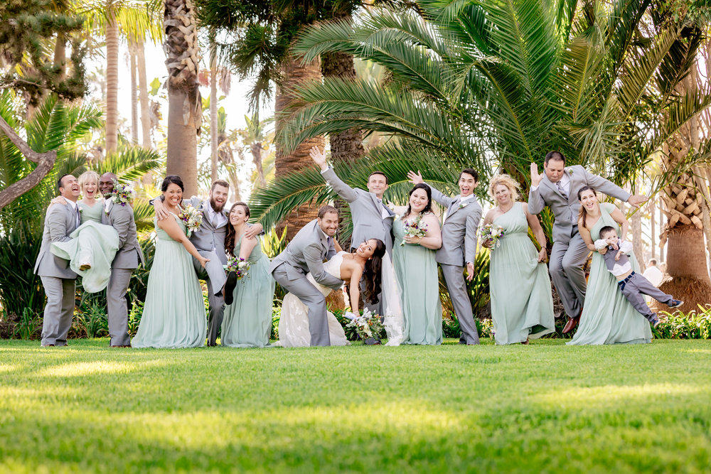 www.santabarbarawedding.com | Rewind Photography | Santa Barbara Sea Center | Events by Fran | Bridal Party
