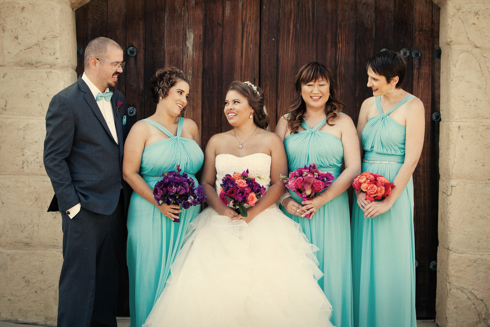 www.santabarbarawedding.com | Josh Goodman | Sunstone Winery | Bridesmaids