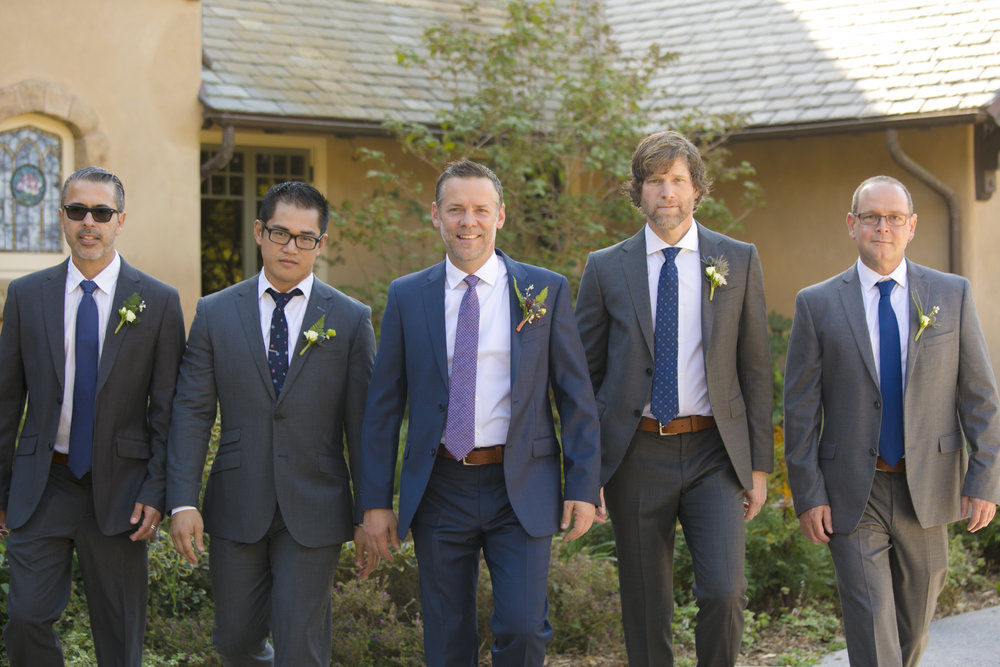 www.santabarbarawedding.com | ByCherry Photography | HeartStone Ranch | Groomsmen