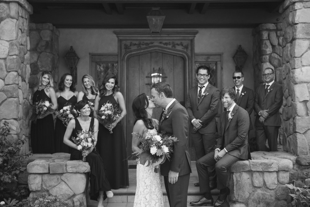 www.santabarbarawedding.com | ByCherry Photography | HeartStone Ranch | Bridal Party