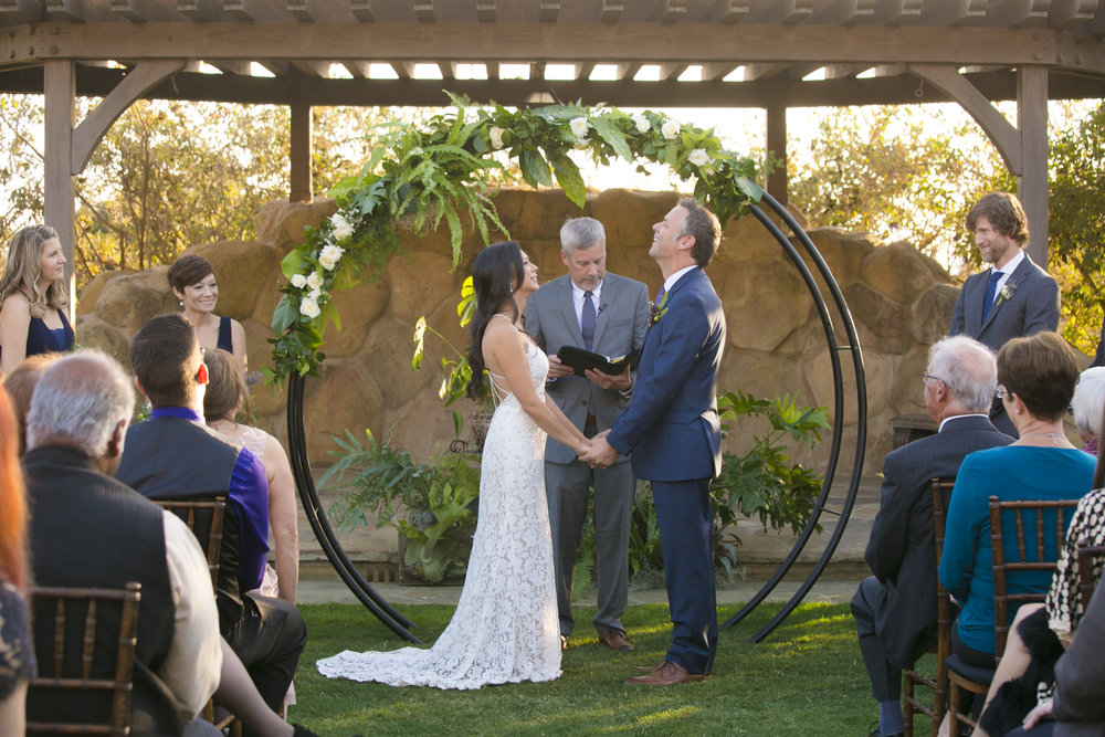 www.santabarbarawedding.com | ByCherry Photography | HeartStone Ranch | Ceremony