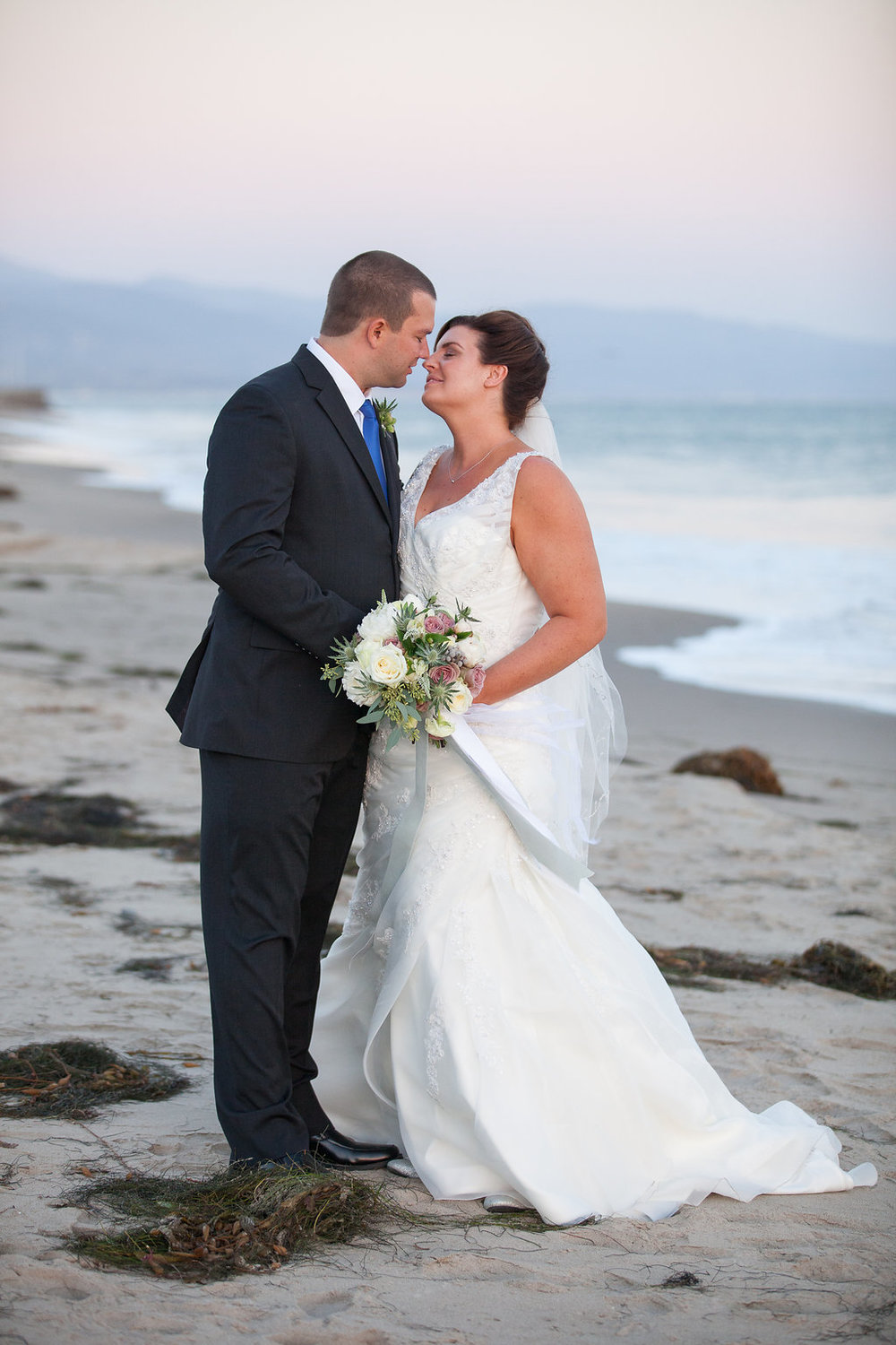 www.santabarbarawedding.com | Felici Events | Bride and Groom