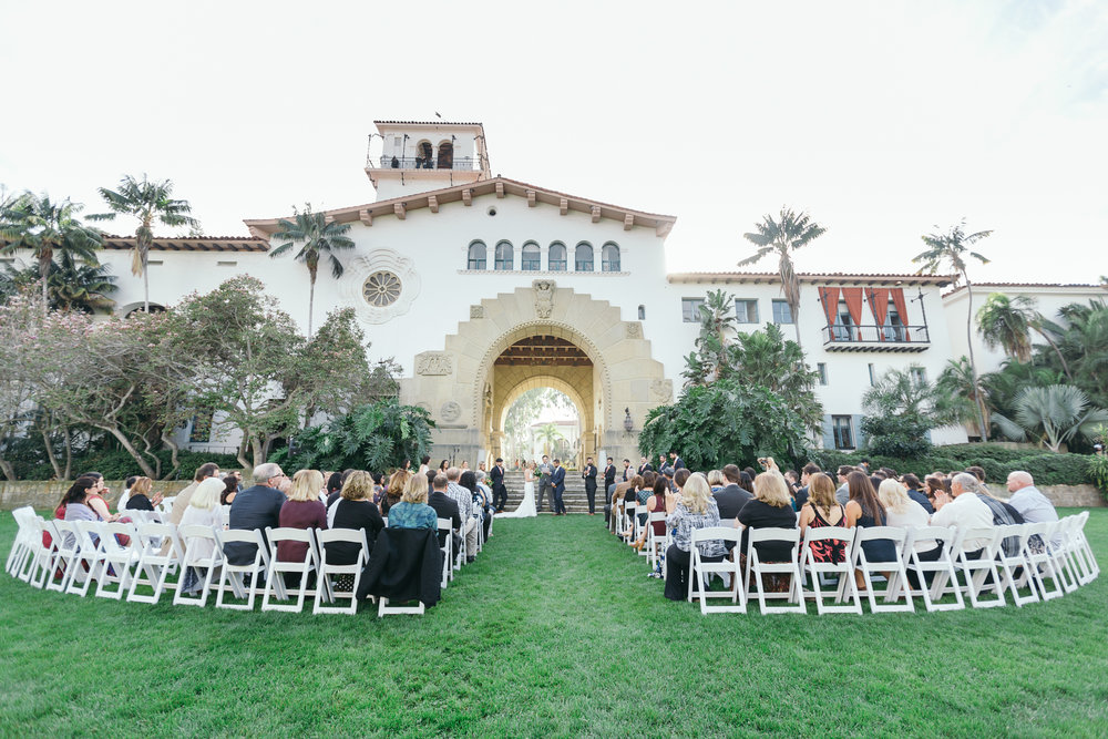 www.santabarbarawedding.com | Kiel Rucker | Riviera Mansion | Ceremony