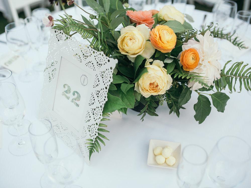 www.santabarbarawedding.com | Kiel Rucker | Riviera Mansion | Reception Florals