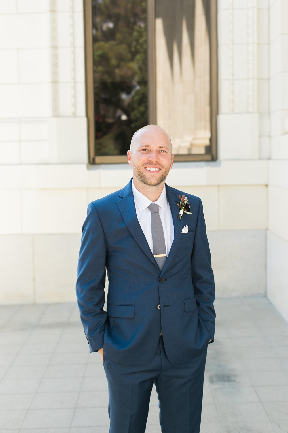 www.santabarbarawedding.com | Ann Johnson | Katie Shuler Photography | Ventura Botanical Gardens | Groom