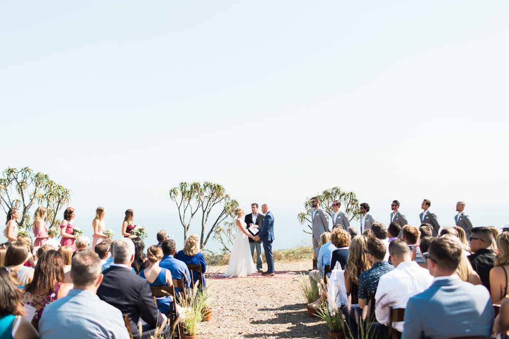 www.santabarbarawedding.com | Ann Johnson | Katie Shuler Photography | Ventura Botanical Gardens | Ceremony