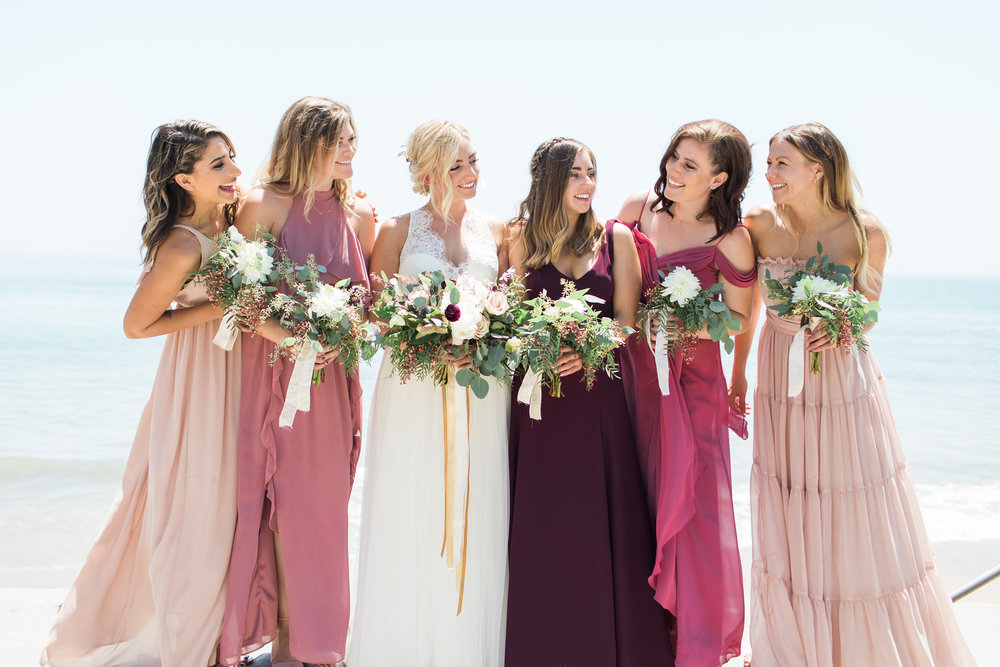 www.santabarbarawedding.com | Ann Johnson | Katie Shuler Photography | Ventura Botanical Gardens | Bridesmaids