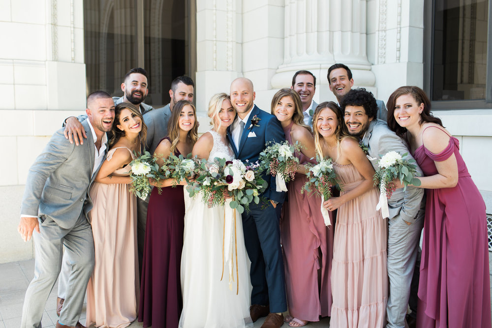 www.santabarbarawedding.com | Ann Johnson | Katie Shuler Photography | Ventura Botanical Gardens | Bridal Party