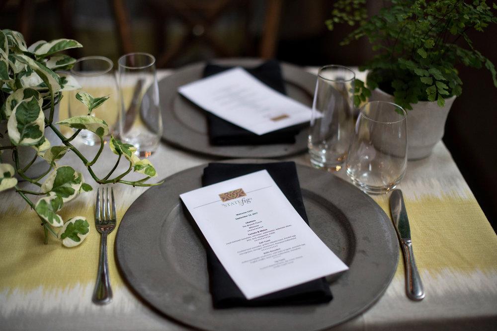 www.SantaBarbaraWeddingStyle | State & Fig Restaurant | Santa Barbara Wedding Location | Rehearsal Dinner | Brunch | Ann Johnson Events | Emma Rose Floral | Laurie Bailey Photography