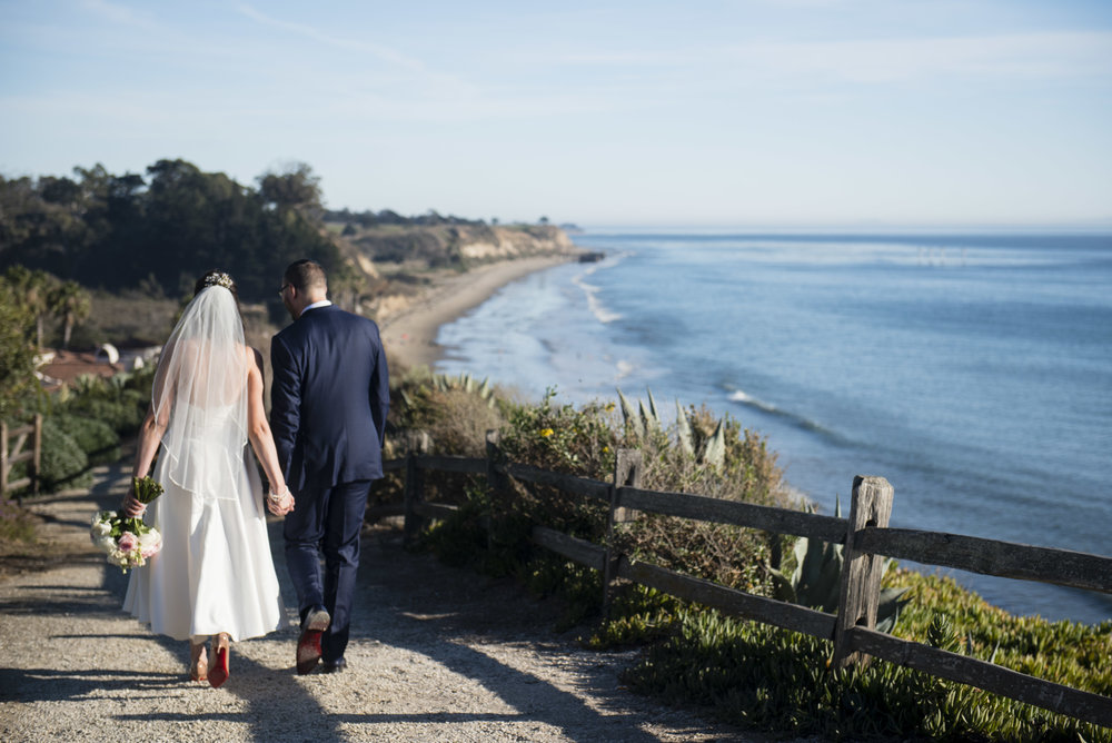 www.santabarbarawedding.com | By Cherry Photography | Santa Barbara Courthouse | Bride and Groom