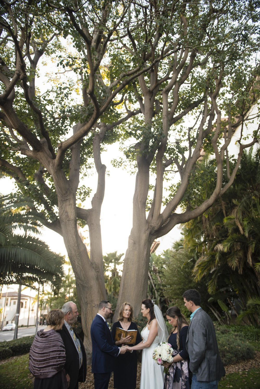 www.santabarbarawedding.com | By Cherry Photography | Santa Barbara Courthouse | Ceremony
