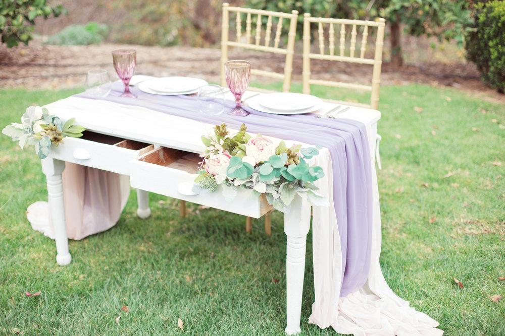 www.santabarbarawedding.com | Kay Mitchell Photography | The Dana-Powers House | Head Table