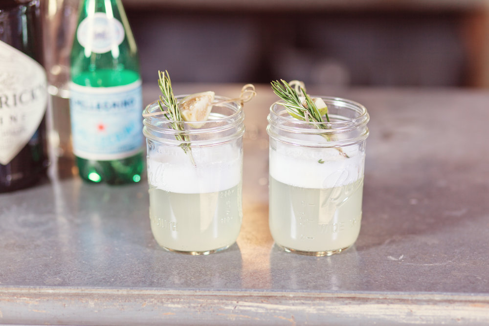 www.santabarbarawedding.com | Kay Mitchell Photography | The Dana-Powers House | Drinks