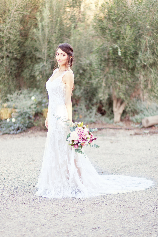 www.santabarbarawedding.com | Kay Mitchell Photography | The Dana-Powers House | Bride