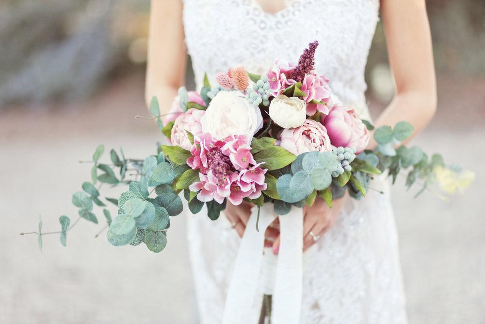 www.santabarbarawedding.com | Kay Mitchell Photography | The Dana-Powers House | Bridal Bouquet