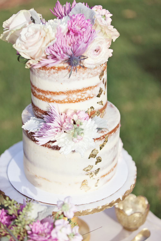 www.santabarbarawedding.com | Kay Mitchell Photography | The Dana-Powers House | Wedding Cake
