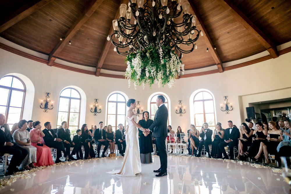 www.santabarbarawedding.com | Rewind Photography | The Ritz Carlton Bacara | Amazing Days Events | Ceremony