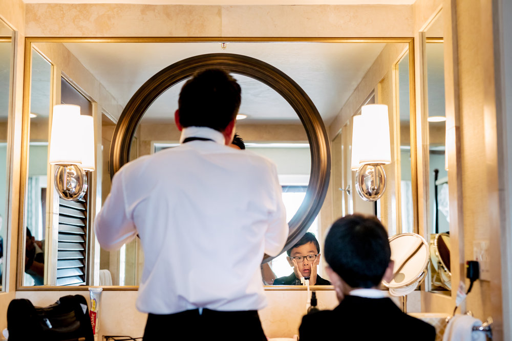 www.santabarbarawedding.com | Rewind Photography | The Ritz Carlton Bacara | Amazing Days Events | Groom Getting Ready