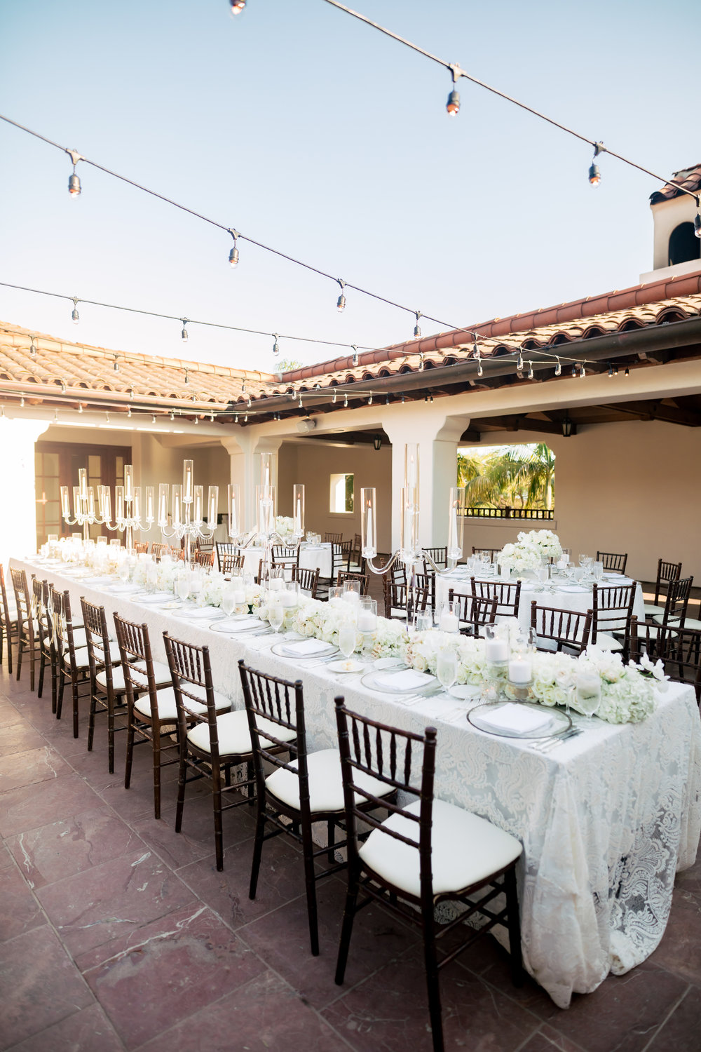 www.santabarbarawedding.com | Rewind Photography | The Ritz Carlton Bacara | Amazing Days Events | Reception Tables