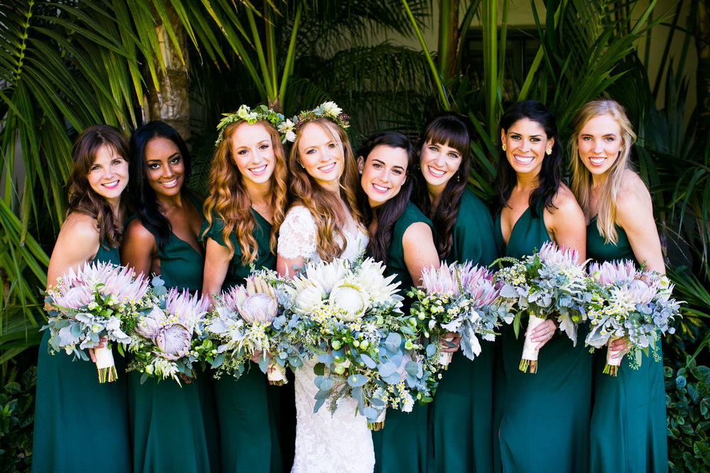 www.santabarbarawedding.com | Four Seasons Santa Barbara | Levine Fox Events | Callaway Gable Photo | Bridesmaids