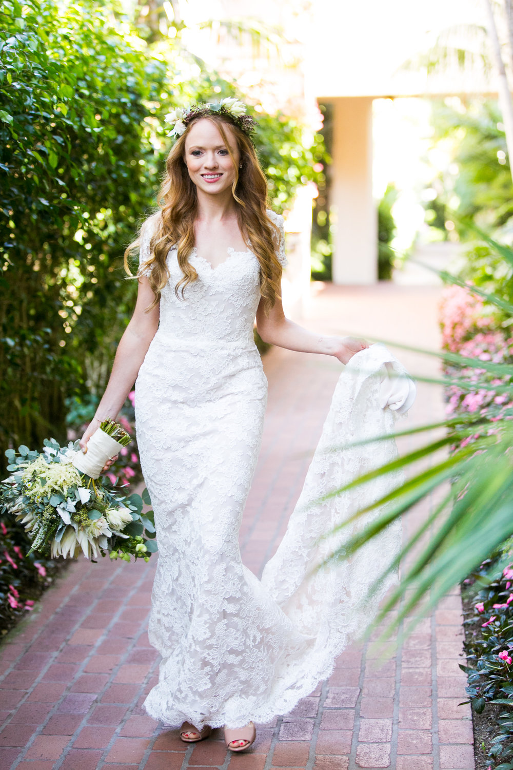www.santabarbarawedding.com | Four Seasons Santa Barbara | Levine Fox Events | Callaway Gable Photo | Bride