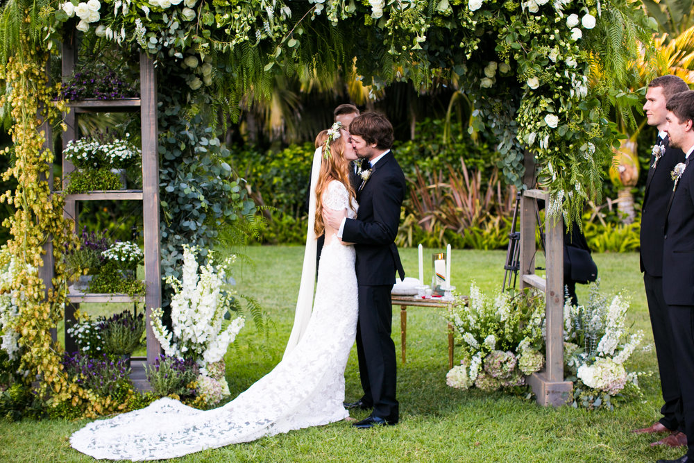 www.santabarbarawedding.com | Four Seasons Santa Barbara | Levine Fox Events | Callaway Gable Photo | Ceremony