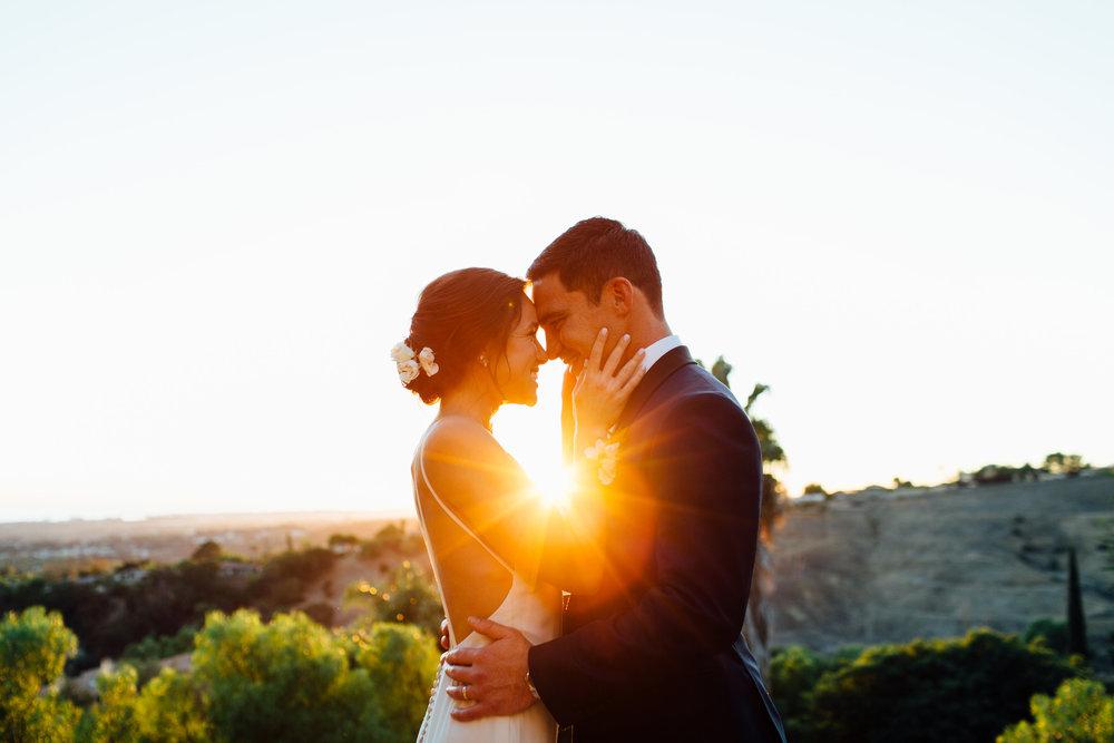 www.santabarbarawedding.com | Jihan Cerda | Villa Verano | Bride and Groom