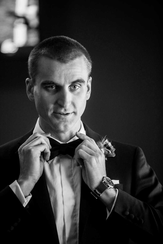 www.santabarbarawedding.com | Philip Van Nostrand | Riviera Mansion | Groom Getting Ready