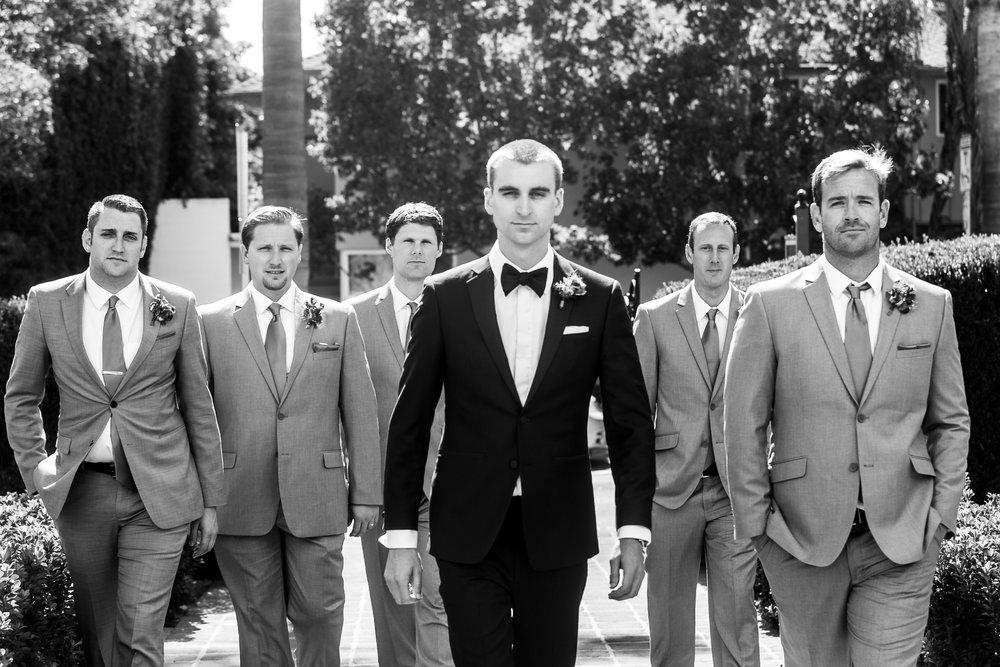 www.santabarbarawedding.com | Philip Van Nostrand | Riviera Mansion | Groomsmen