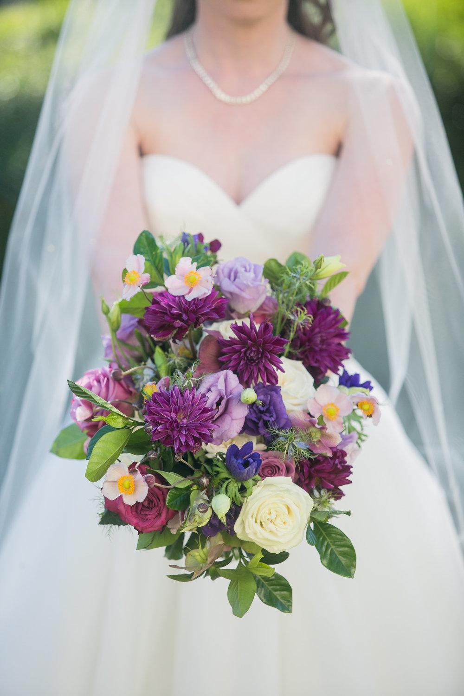 www.santabarbarawedding.com | Philip Van Nostrand | Riviera Mansion | Bridal Bouquet