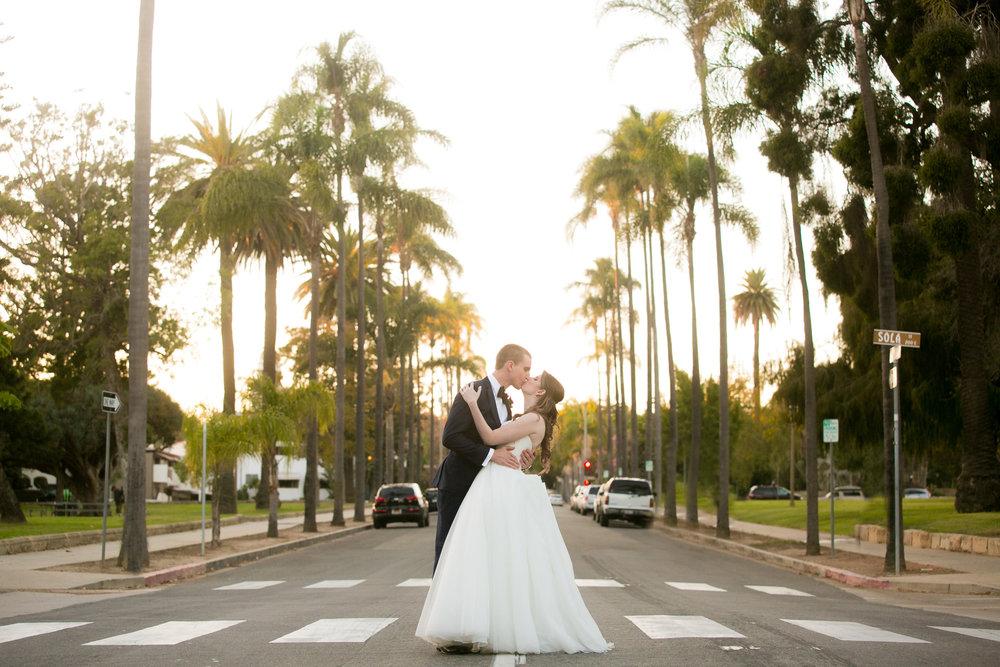 www.santabarbarawedding.com | Philip Van Nostrand | Riviera Mansion | Bride and Groom