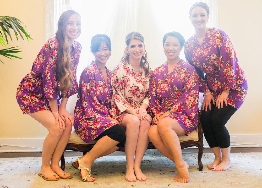 www.santabarbarawedding.com | Philip Van Nostrand | Riviera Mansion | Bridesmaids